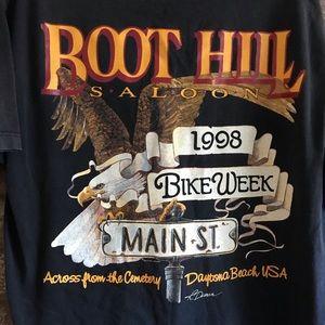 Other - Vintage 98 Boot Hill Bike Week pocket tee